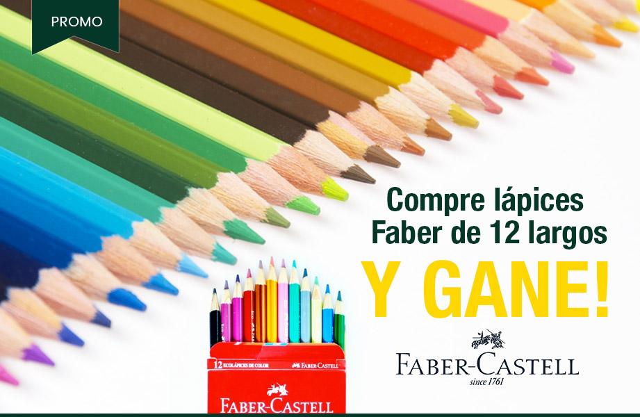 Comprá lápices Faber Castell y ganá