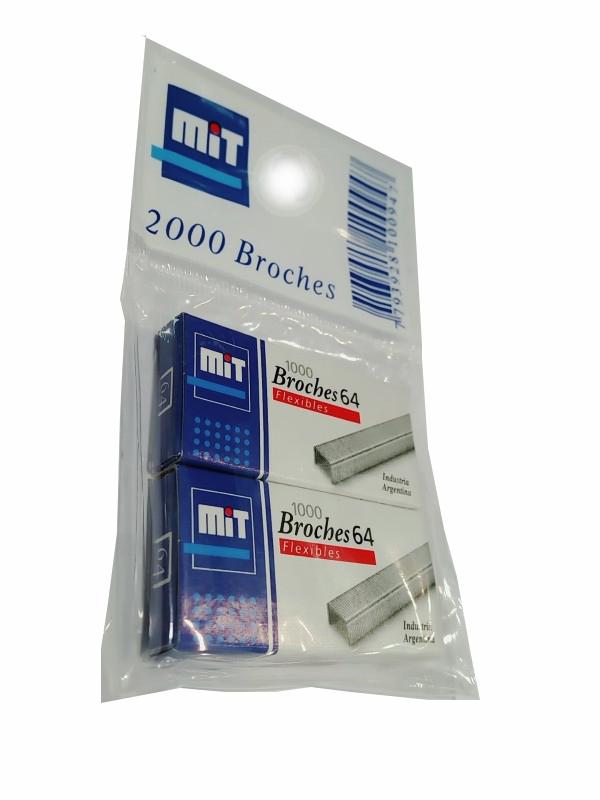 x2 BROCHES MIT 64 x1000