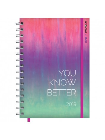 AGENDA 10x15 GOLDEN RAINBOW DIARIA
