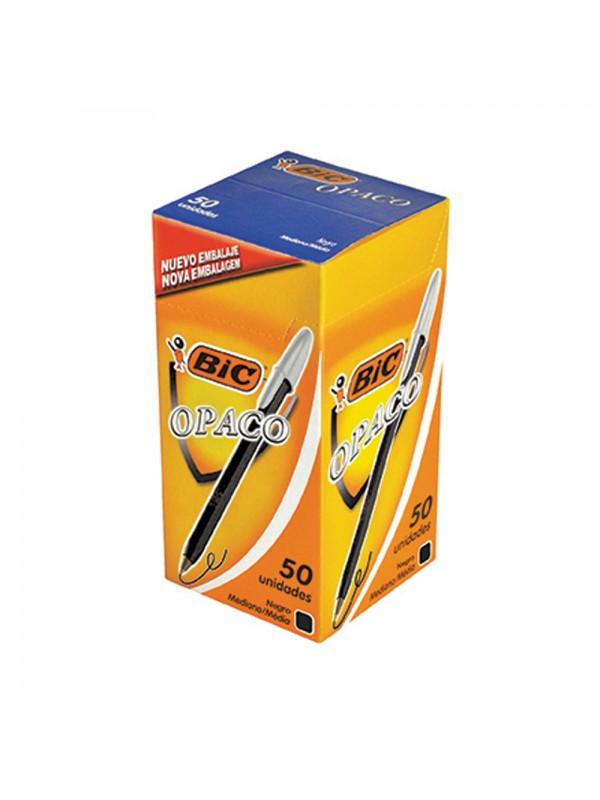x50 BOLIGRAFO BIC NEGRO (BULTO x 24)