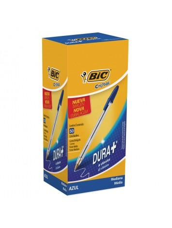 x50 BOLIGRAFO BIC CRISTAL 1 mm AZUL (BULTO x 24)