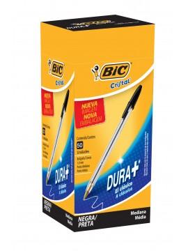 x50 BOLIGRAFO BIC CRISTAL 1 mm NEGRO (BULTO x 24)