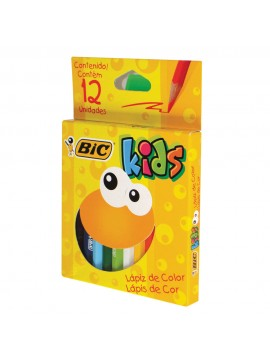 LAPIZ BIC KIDS COLOR x12 CORTOS