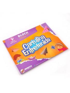 BLOCK CARTULINA ENTRETENIDA ESPECIAL x20 HOJAS