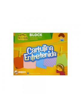 BLOCK CARTULINA ENTRETENIDA GEOMETRICOS x20 HOJAS