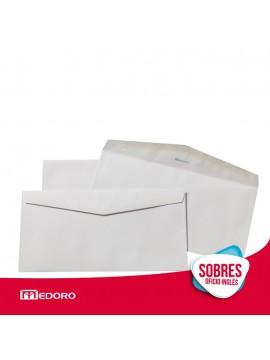 x500 SOBRE COMERCIAL OFICIO BLANCO (1385) 80 GR