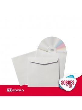 x250 SOBRE PARA CD /DVD SIN VENTANA (1105)
