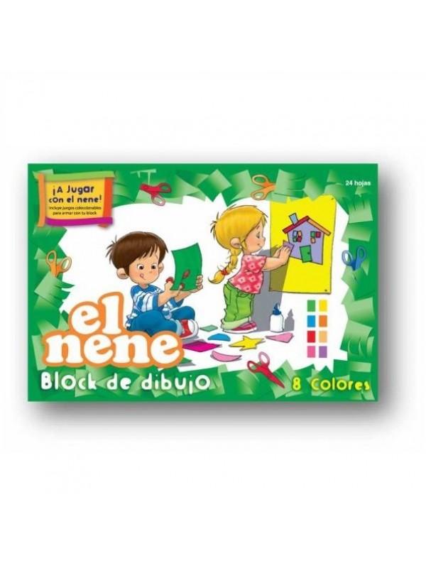 BLOCK EL NENE N°5 COLOR