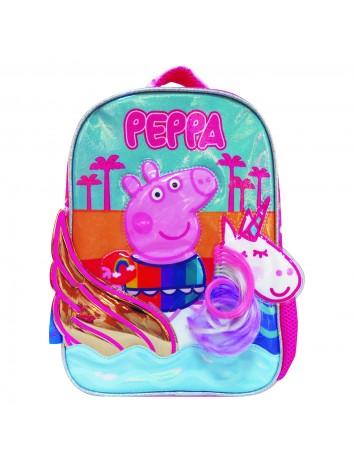"""PP507 MOCHILA 12"""" ESPALDA PEPPA PIG"""