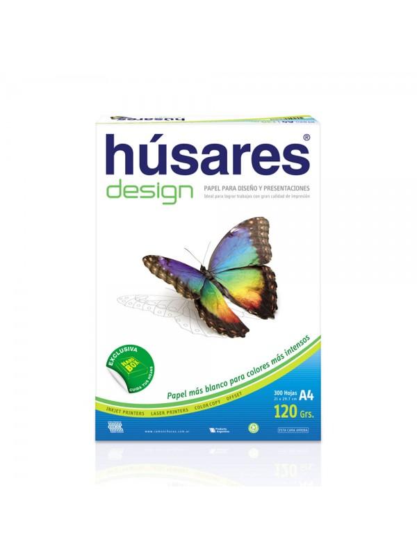 RESMA HUSARES DESIGN A4 120 G x300