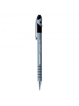 x12 BOLIGRAFO FLEXIGRIP ULTRA RETRACTIL NEGRO + REPUESTO
